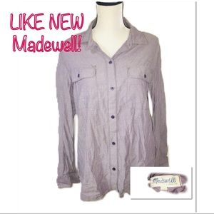 • MADEWELL | LIKE NEW | Button Down •